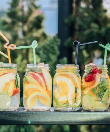 cold summer cocktails